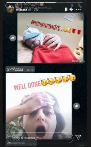 გიორგი მახარაძეს და მარიამ ნადირაძეს შვილი შეეძინათ - პირველი ფოტო სამშობიაროდან