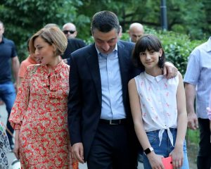 (ფოტოები) იგი პრემიერ-მინისტრზე 10 წლით უმცროსია - ვინ არის გიორგი გახარიას მეუღლე