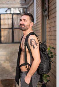 (ფოტო) თაყვანისმცემელმა ლელა წურწუმიას პორტრეტი სხეულზე დაიხატა
